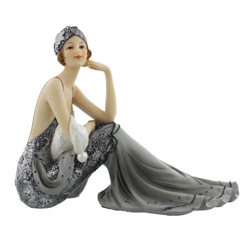 Art Deco Midnight Shimmer Broadway Belle Lady Figurine by Juliana - 'Suzie' 60819